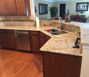 Custom granite counter tops done by RMG