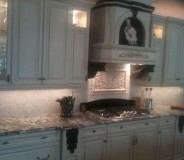 Custom granite kitchen tops done by RMG