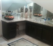 Custom granite vanity top by RMG