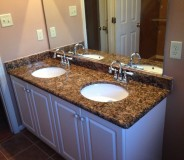 Custom vanity top done by RMG