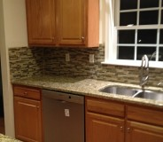 Custom granite and tile done by RMG